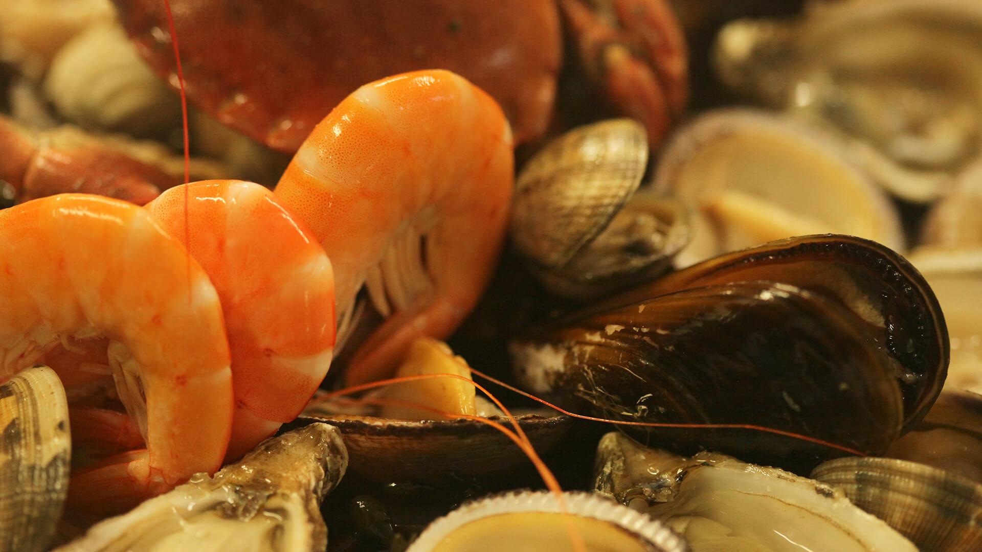 Le plateau de fruits de mer du relais du Cap, un incontournable